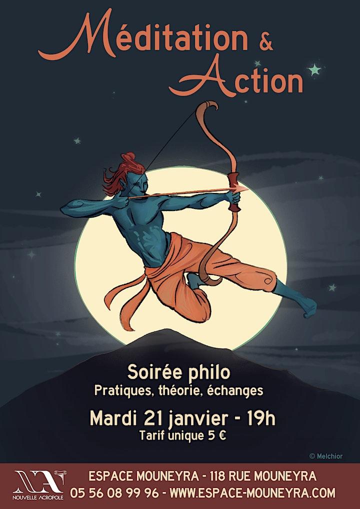 Image pour Soirée philo : méditation et action