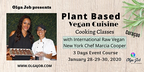 Plant Based Vegan Cuisine - 3 Days Classes tickets