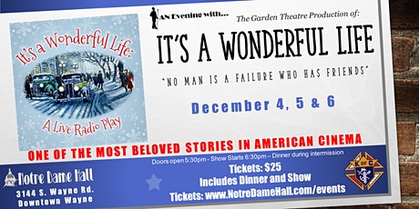 It's a Wonderful Life - Radio Play tickets