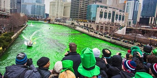 St Patrick's Day River North Morning Bar Crawl