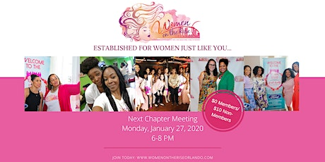 Women on the Rise Orlando January Chapter Meeting tickets