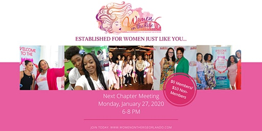 Women on the Rise Orlando January Chapter Meeting
