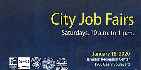 San Francisco City Job Fair Saturday January 18 10 am tickets