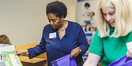 United Way Literacy Kit Assembly & Organization