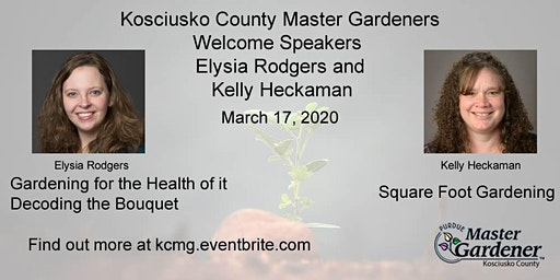 Gardening Away the Winter Blues - March 17, 2020 - Single Admission