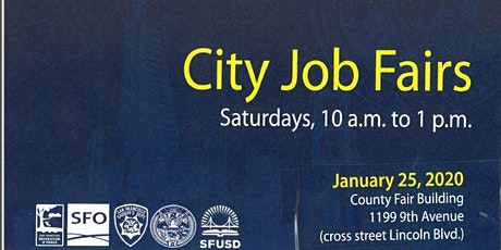 San Francisco City Job Fair Saturday January 25 10 am tickets