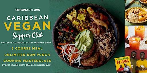Original Flava's Caribbean Vegan Supperclub & Masterclass #VEGANUARY Special