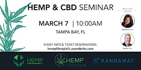 HEMP & CBD SEMINAR | Tampa Bay, FL tickets