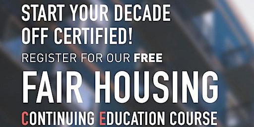Fair Housing (4 Credit Hours)