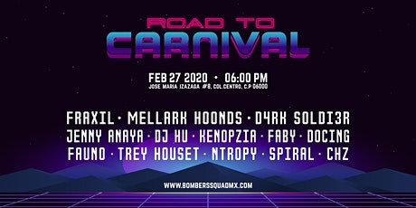 Road To Carnival 2020 boletos