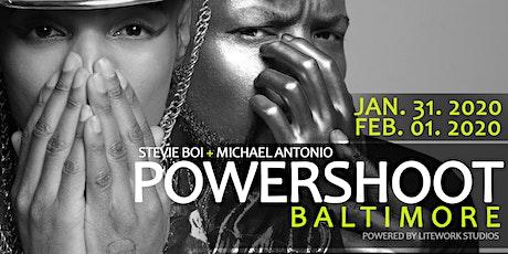 ATTENTION ALL DMV MODELS, Join Stevie Boi & Michael Antonio 2020 POWERSHOOT tickets