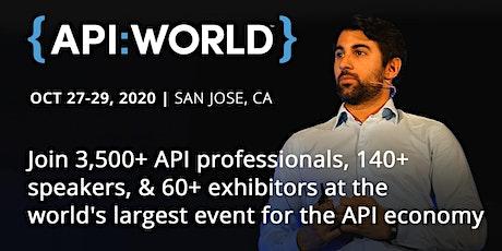 API World 2020 tickets