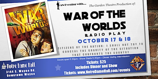 War of the Worlds - Radio Play