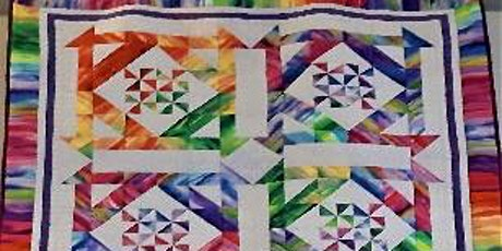 Rainbow Quilt with Rosemary £35 tickets