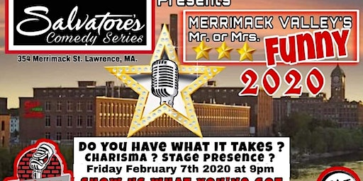 Merrimack Valley Mr/Mrs Funny 2020 at Salvatore's Friday February 7th