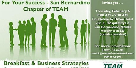 For Your Success - San Bernardino Chapter Invitation Day tickets