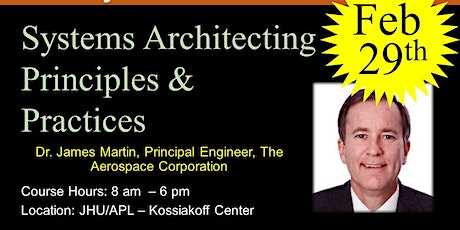 Systems Architecting Principles & Practices tickets