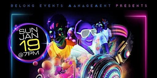 90's Neon Dance Party