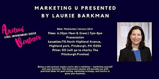 Axelrod Legal Empowerment Series Presents: Marketing U