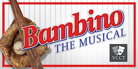 BAMBINO the Musical tickets