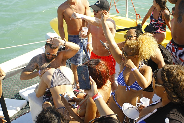Booze Cruise - Miami Party Boat- Unlimited drinks image