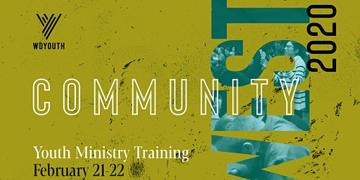 Community West Youth Ministry Training 2020