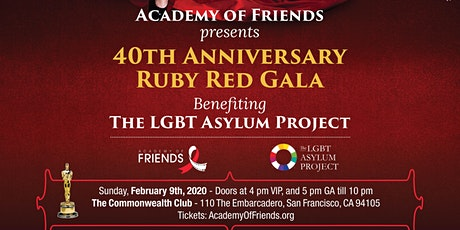Academy of Friends 40th Anniversary Gala tickets