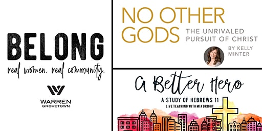 BELONG - Warren Grovetown Women's Bible Study