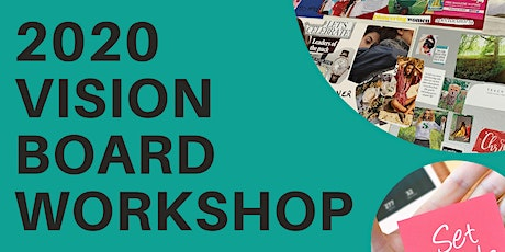 2020 VISION BOARD WORKSHOP  (In-house)  tickets
