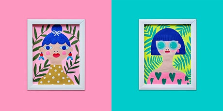 Fashion Pop Art Illustration Workshop tickets
