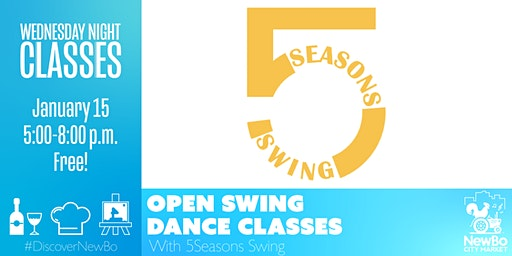 Wednesday  Class: 5 Seasons Open Swing Class