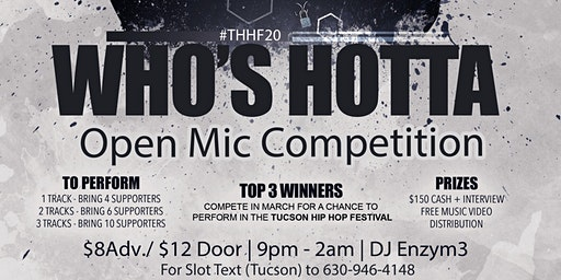 Who's Hotta open mic competition