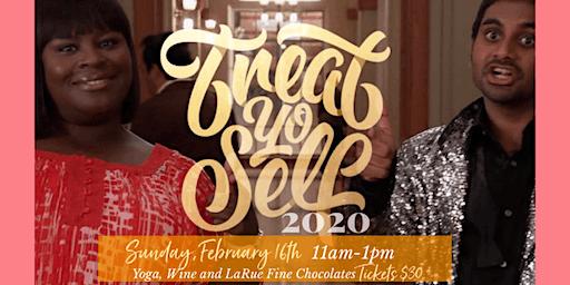 Treat Yo'Self!  Yoga Flow + Chocolate and Wine Tasting