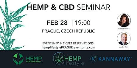 HEMP & CBD SEMINAR   Prague, Czech Republic tickets