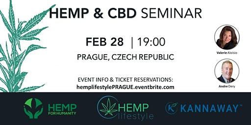 HEMP & CBD SEMINAR | Prague, Czech Republic