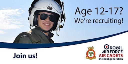 Air Cadet recruitment evening - register your interest!