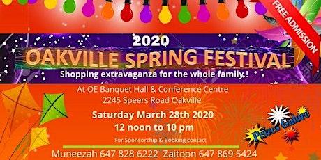 Oakville Spring Bazaar 2020 tickets
