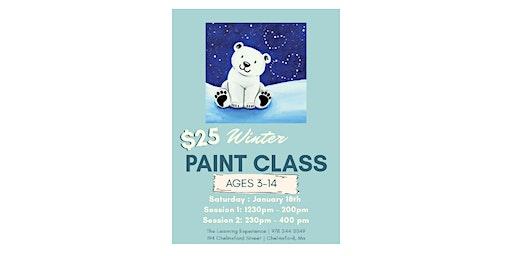 Kids Winter Painting Class
