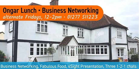 Ongar Lunch - Business Networking in Essex tickets