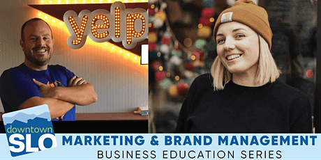 Downtown SLO Business Education Series: Marketing & Brand Management tickets