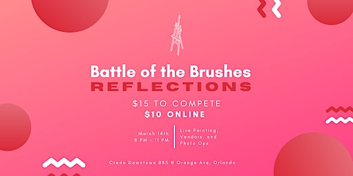 Battle of the Brushes: Reflections