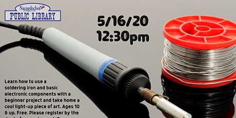 Makerspace: Soldering & Basic Electronics tickets