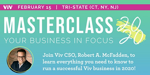 MASTERCLASS 2020: Your Business In Focus! - Tarrytown, NY
