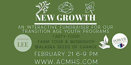 New Growth: An Interactive Fundraiser to Support Transition Age Youth