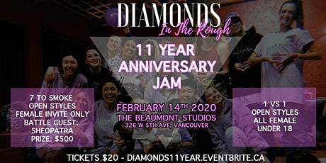 Diamonds In The Rough 11th Anniversary Jam! tickets