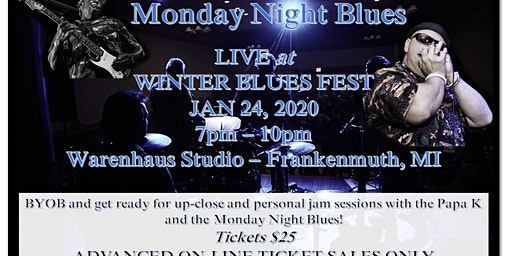 Winter Blues Fest with Monday Night Blues (Live)