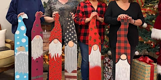 Wooden Gnome Painting Class