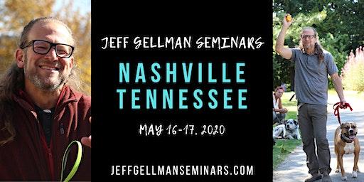 Nashville Tennessee- Jeff Gellman's 2 Day Dog Training Seminar