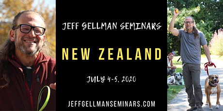 New Zealand - Jeff Gellman's 2 Day Dog Training Seminar  tickets