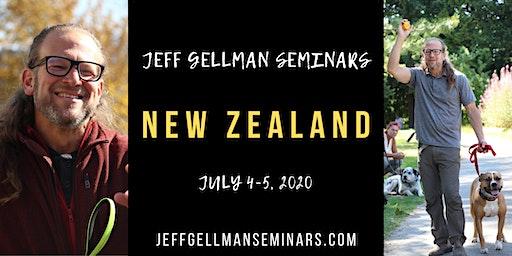 New Zealand - Jeff Gellman's 2 Day Dog Training Seminar